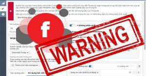 sai lầm khi chạy quảng cáo facebook 5