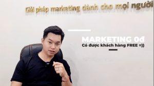 marketing 0 đồng